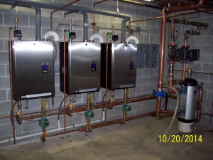 IBC Boiler installation for Mason Woods Retirement Home in Shawano, WI.